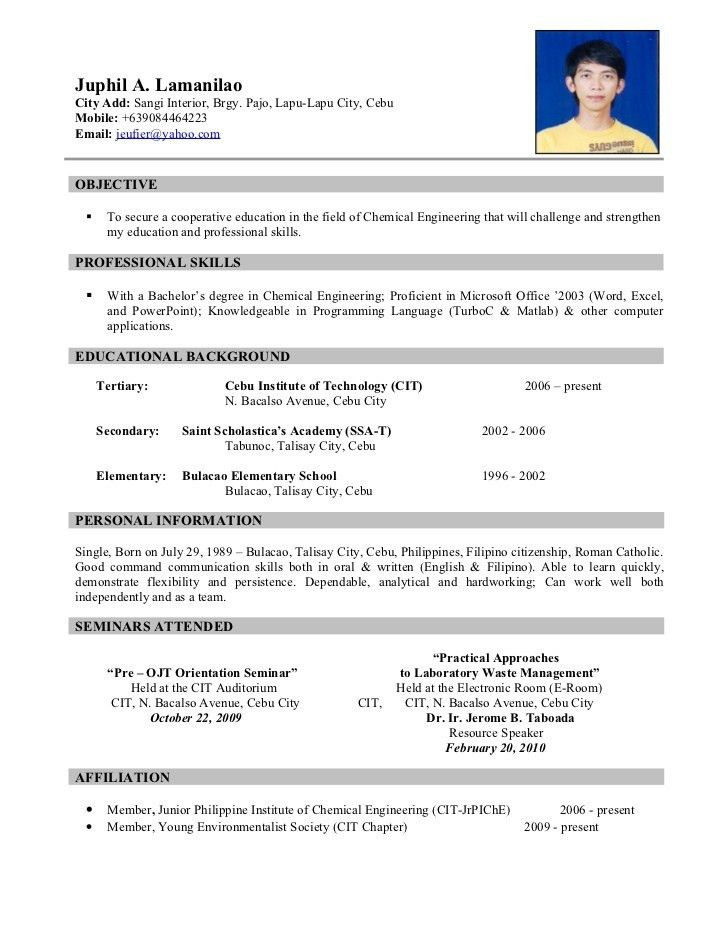 resume template classic 20 blue classic 20 blue. resume for job ...