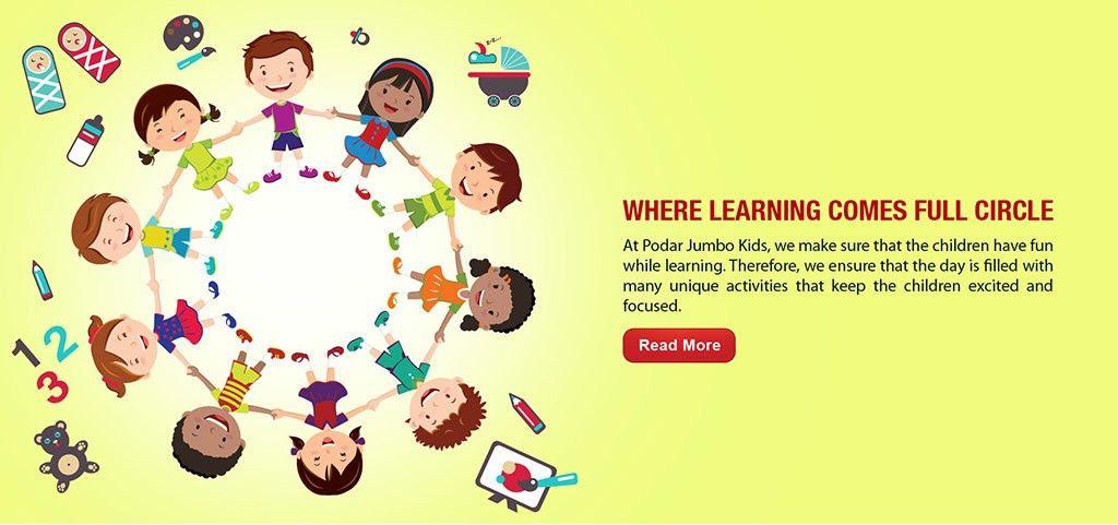Podar Jumbo Kids- Best Preschool in India
