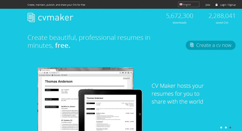 best resume websites