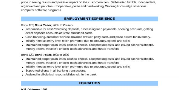 Entry Level Environmental Science Resume Examples Environmental ...