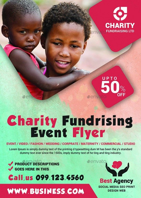 21+ Charity Flyer Templates - PSD, Vector EPS, JPG Download ...