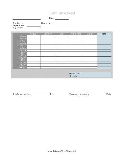 Download Hourly Timesheet Template   Excel   PDF   RTF   Word ...