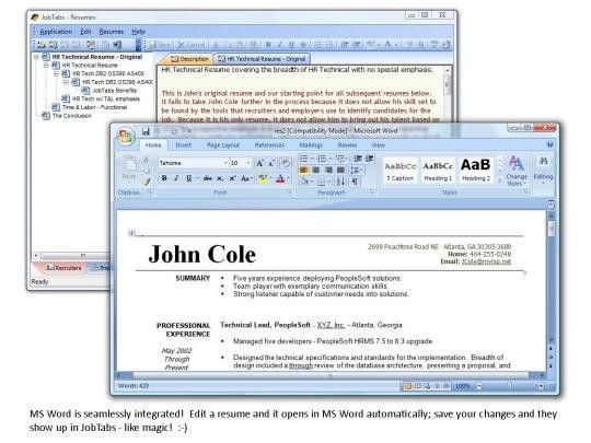 JobTabs Job Search and Resume Builder - Free download and software ...