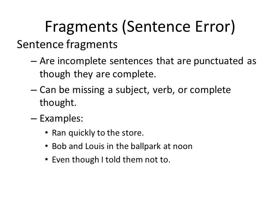Episode IV: Clauses and Sentence Structure - ppt download