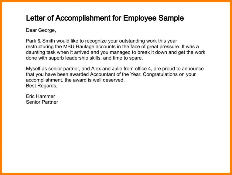 7+ accomplishment report sample for work | lawyer-resume