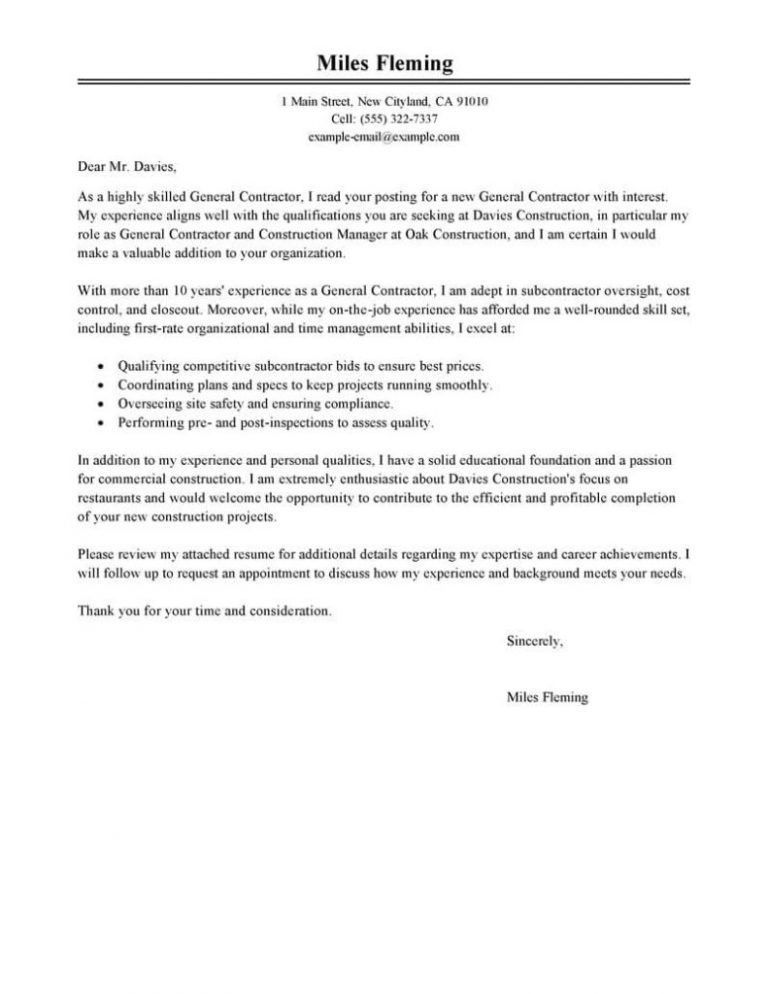 Projects Idea General Cover Letter For Resume 16 Generic Cover ...