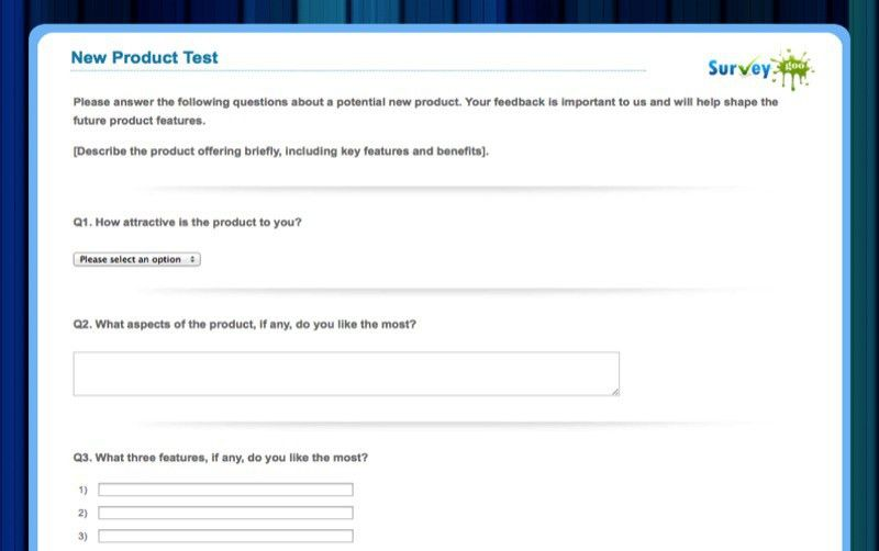 Free Questionnaire Templates | Online Surveys | Surveygoo