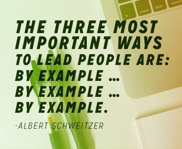 Leadership By Example Quotes, Quotes About Leadership And Teamwork ...