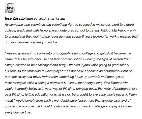 Blog — Jose Rosado | Editorial/Lifestyle Photographer