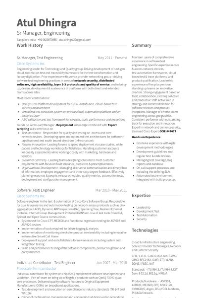 Download Database Test Engineer Sample Resume ...