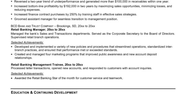 wells fargo personal banker resume banker resume actuary resume ...