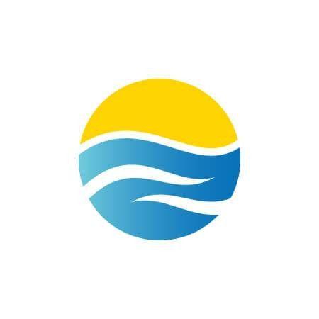 professional Sunshine Resort Logo Template for $10