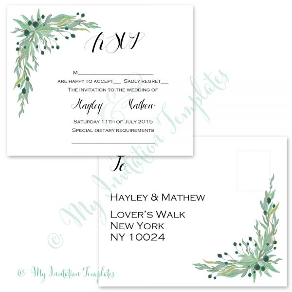 Wedding planning Archives - My Invitation Templates for DIY ...
