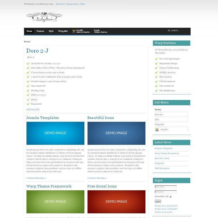 Free Joomla Templates - JVG TEMPLATES - Joomland