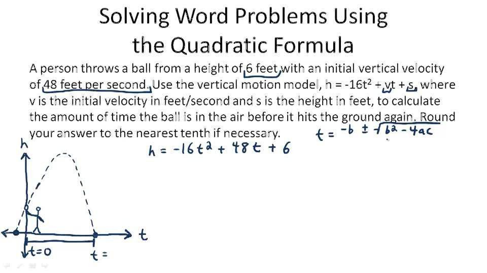 The Quadratic Formula ( Video ) | Algebra | CK-12 Foundation