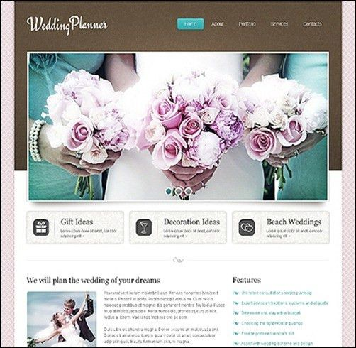 10+ Top Wedding Website Templates - For Your Best Moments -