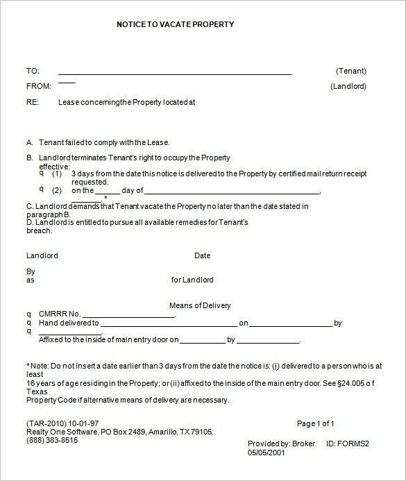Printable Eviction Notice   rubybursa.com