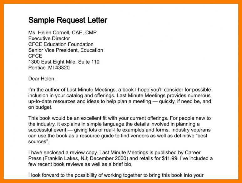 6+ requisition letter samples | park-attendant