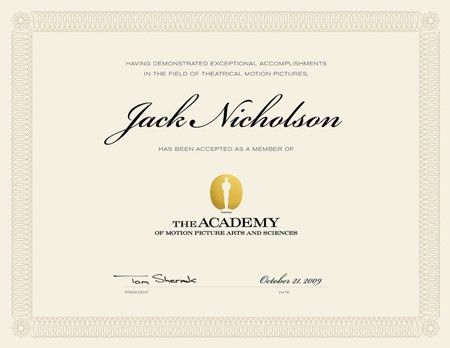 Academy of Motion Picture Arts and Sciences® membership ...