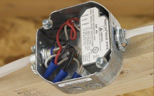 Remcon Low Voltage Relays - R-115S / RC-120S Low Voltage Relays