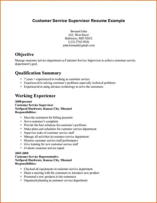 Stylish Good Objective For Resume For Customer Service | Resume ...