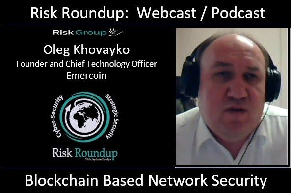 Blockchain based Network Security – Risk Group