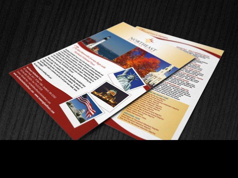 Flyer Design - Tour Company - Insite Media Design