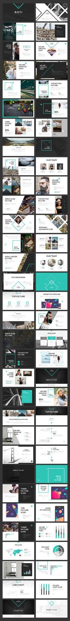 Aqua PowerPoint Template | Presentation templates, Powerpoint ...
