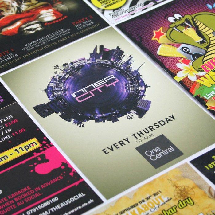Freshers Student Marketing - Flyer Printing