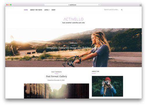 40+ Best Photography WordPress Themes 2017 - colorlib