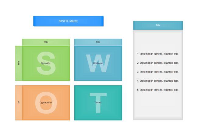 SWOT Matrix | Free SWOT Matrix Templates