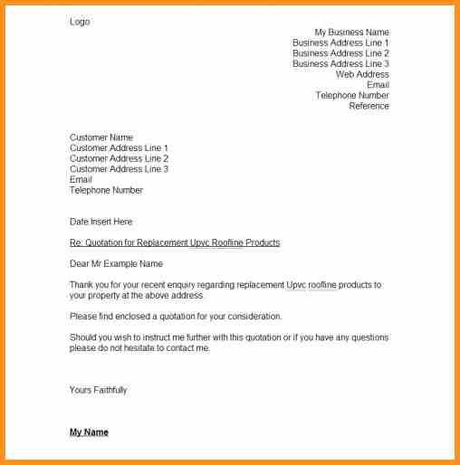 6+ quote letter template | cook resume