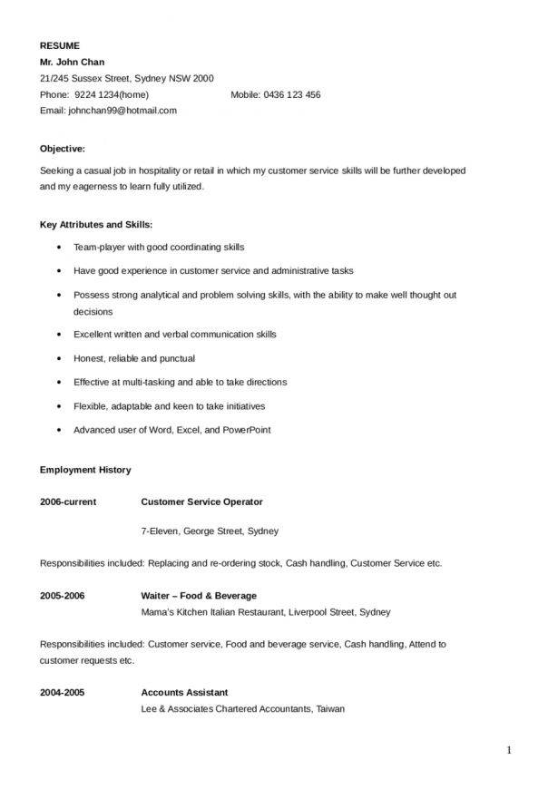 Curriculum Vitae : Example Of An Application Letter For Nursing ...