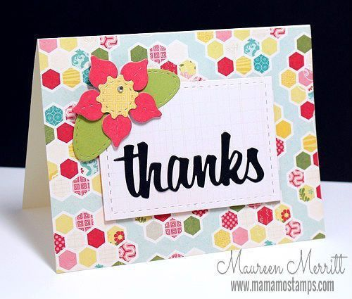 175 best Cards thank you images on Pinterest | Thank you cards ...