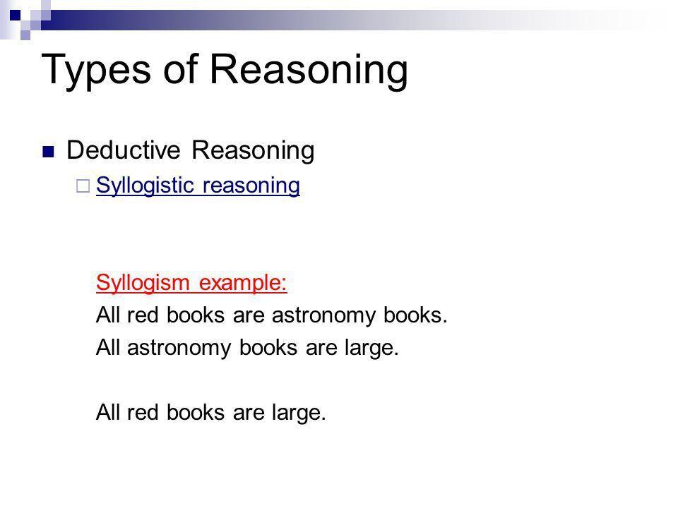 Reasoning - ppt download
