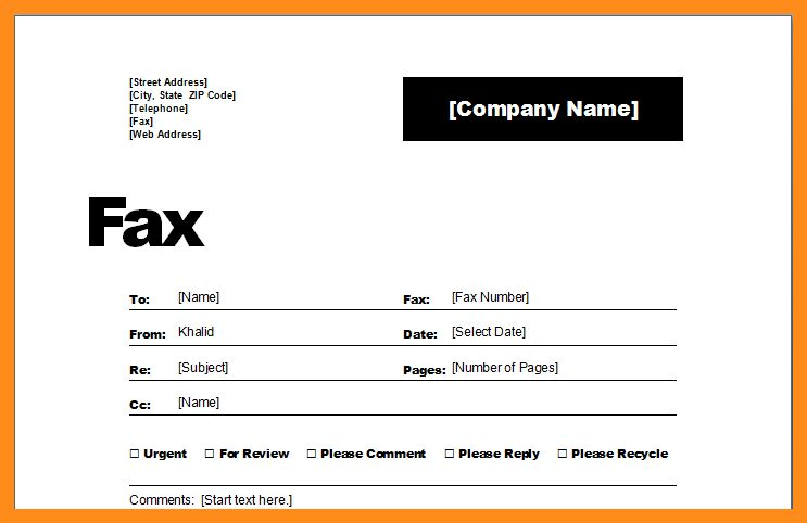 5+ fax cover sheet examples | resume setups
