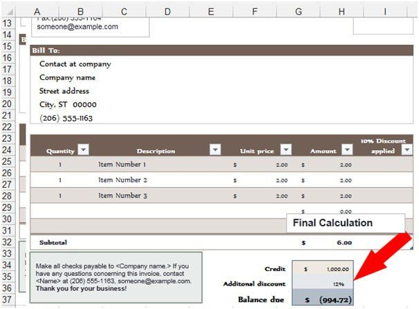 Purchase Order in Microsoft Excel | Microsoft Excel Tips from ...