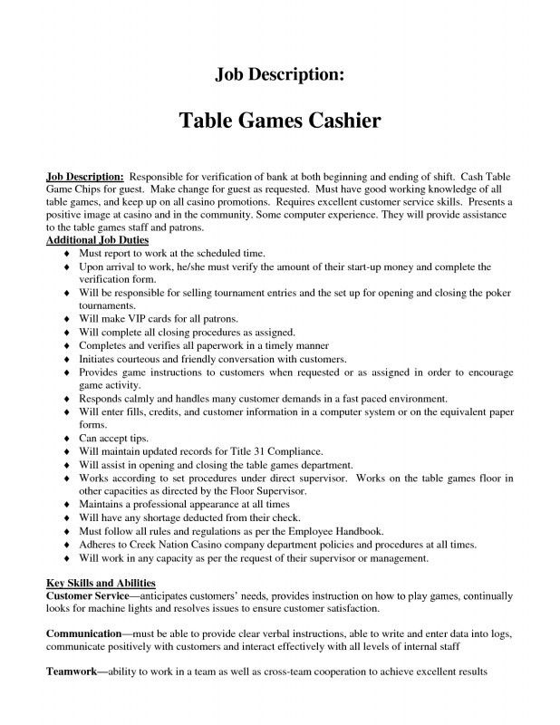 Customer Service Job Description For Resume [Template.billybullock ...