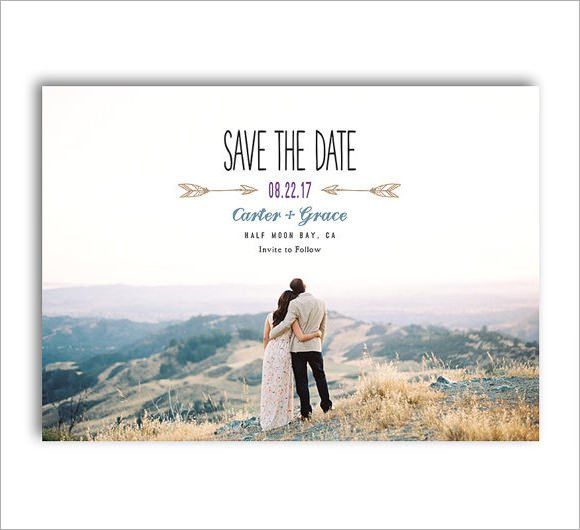 10+ Sample Save the Dates - PSD, Vector EPS