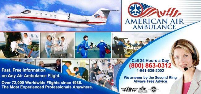 Medical Air Transportation - Air Charters and Companies - Medevac