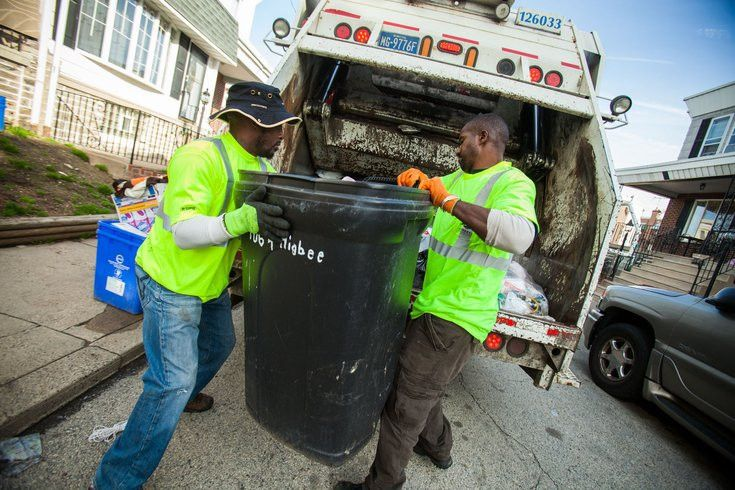 The dangerous job of picking up garbage | PhillyVoice