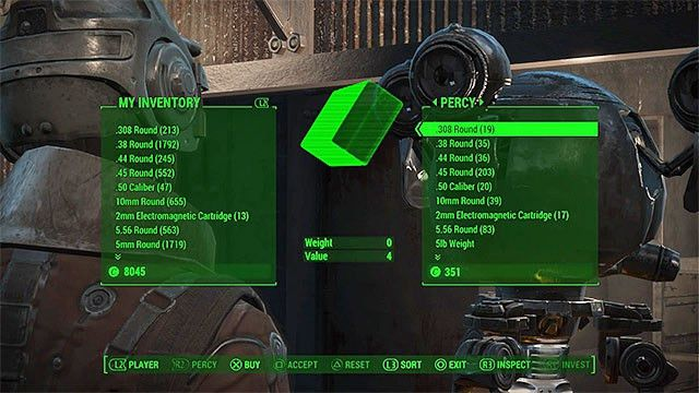 Interactions with other characters - Fallout 4 Game Guide ...
