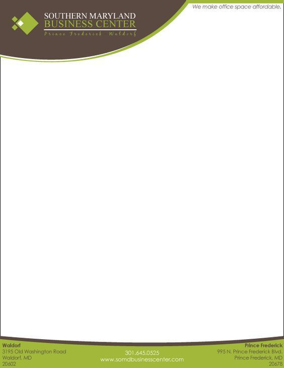 Here Is Another Useful Letterhead Template cakepins.com ...