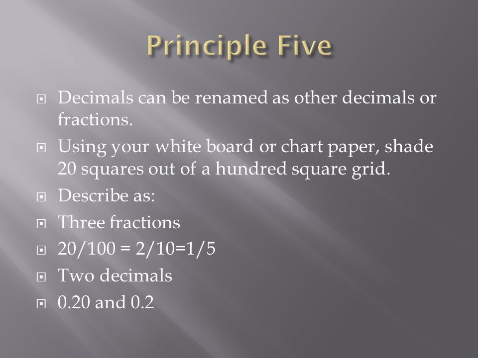 The Five Important Principles - ppt download