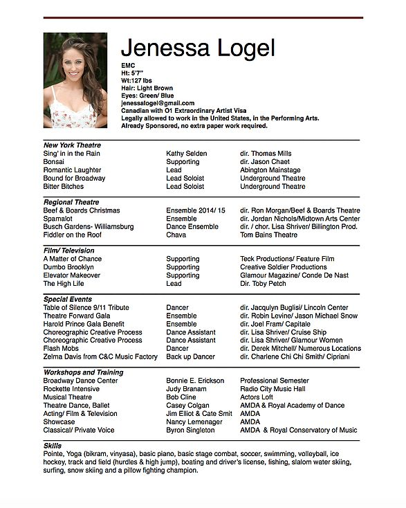 singer resume here are the 8 easy ways on how to write singer