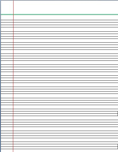4 Lines Writing Template | Lined Paper | Pinterest | English ...