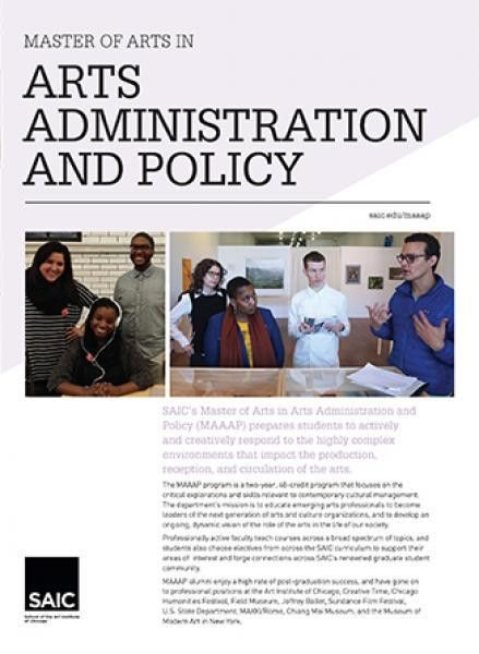 Master of Arts in Arts Administration and Policy | School of the ...