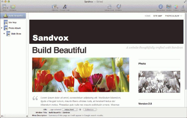 Mac Website Builder: Sandvox makes web sites and publishing easy