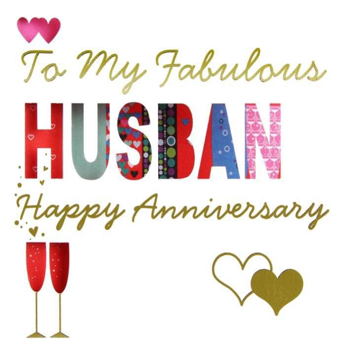 free sample wedding anniversary card for husband | Sang Maestro