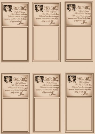 Prayer Card Sheets | Bringing Catholics and non-Catholics together!